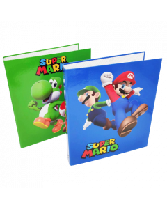 Папка класьор Super Mario 2 бр. различни видове