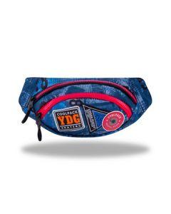 Чанта за кръста ALBANY Badges B`Blue