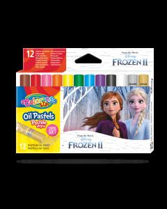 Colorino Disney Frozen II маслени пастели 12 цвята