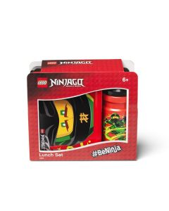 LEGO NINJAGO Lunch сет - черен/червен