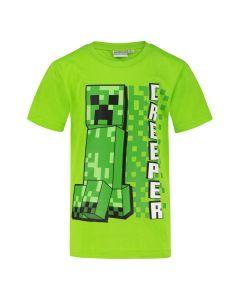 Тениска Minecraft Creeper Pixel