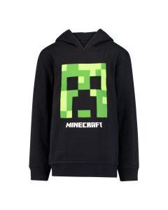 Суитчър с качулка Minecraft Creeper Black