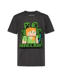 Тениска Minecraft Alex and Creepers