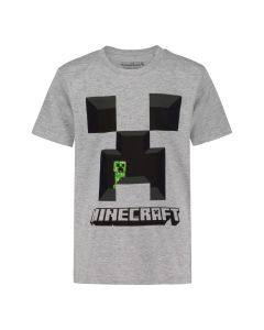Тениска Minecraft Creeper Gray