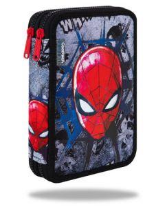 Несесер пълен с два ципа Jumper XL Spiderman Black
