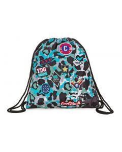 Sprint спортна торба Camo Blue Badges