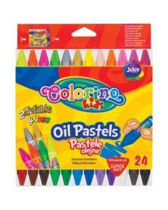 Пастели маслени 24 цвята