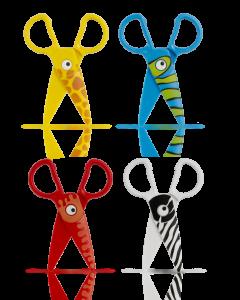 Ножица пластмасова Baby Line Colorino