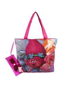 Плажна чанта с очила Trolls