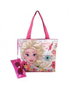 Плажна чанта с очила Frozen