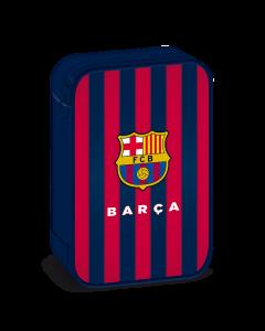 FCBarcelona несесер с един цип на две нива