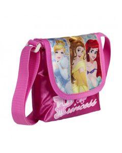 Малка чанта за през рамо с капак Princess