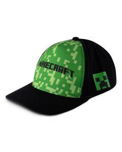 Бейзболна шапка Minecraft с надпис