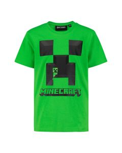 Тениска Minecraft Creeper Green