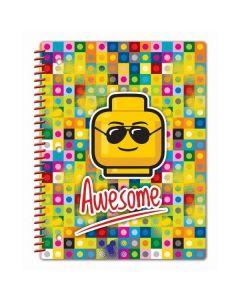 LEGO Iconic тетрадка спирала Awesome