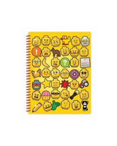 LEGO Iconic тетрадка спирала със символи