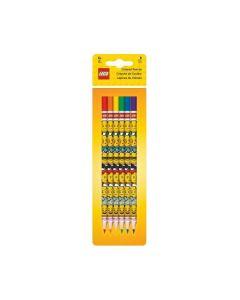 LEGO Iconic цветни моливи - 6 бр.