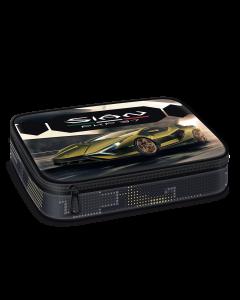 Несесер с един цип на две нива Lamborghini