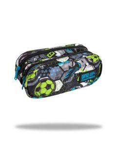 Несесер с два ципа COOLPACK - CLEVER – FOOTBALL