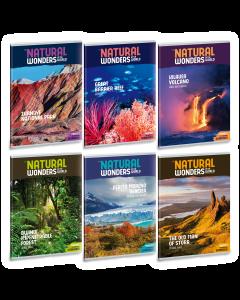 Ученическа тетрадка A4, 40 листа ARS UNA Natural wonders - Различни видове