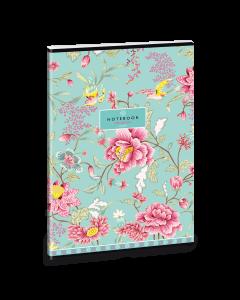 Ученическа тетрадка A4, 40 листа ARS UNA Oriental turquoise