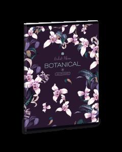 Ученическа тетрадка A5, 40 листа ARS UNA Botanic orchid