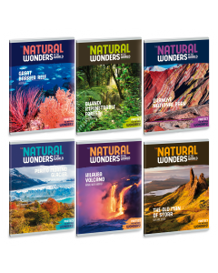 Ученическа тетрадка A5, 40 листа ARS UNA Natural wonders