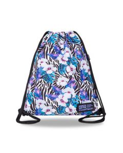 Спортна торба COOLPACK - SOLO L - FLOWER ZEBRA