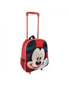 Малка раница на колела Mickey Mouse, Червена