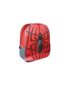 Малка раница 3D, Spiderman, Червена