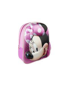 Малка раница 3D, Minnie Mouse, Розова