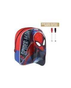 Малка раница с 2 маркера за оцветяване, Spiderman