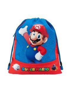 Ученическа спортна торба Super Mario