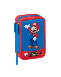 Ученически троен несесер, Super Mario 2021