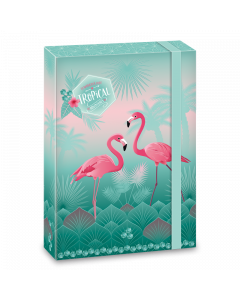 Pink Flamingo кутия А4