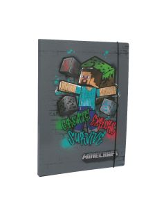 Папка с ластик Minecraft Steve