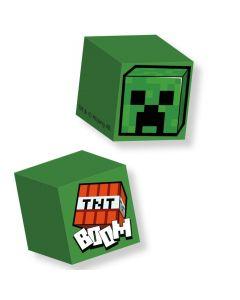Гума Minecraft куб