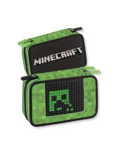 Ученически несесер Minecraft със съдържание 2021
