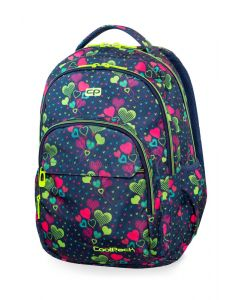 Раница COOLPACK - BASIC PLUS - LIME HEARTS