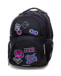 Раница COOLPACK - DART L- (BADGES BLACK)
