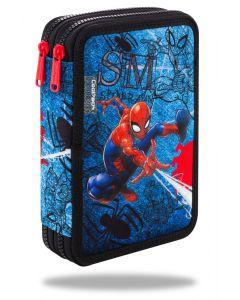 Несесер пълен с два ципа Jumper XL Spiderman Denim