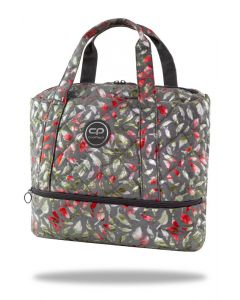 Чанта за рамо Luna Feathers Grey