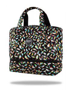 Чанта за рамо Luna Feathers Black