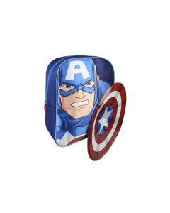 Малка раница 3D, Avengers Captain America