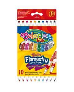 Colorino Kids двувръхи флумастери 10 цвята