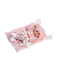 Кукла Llorens Nica Con Cojin Rosa 40 см