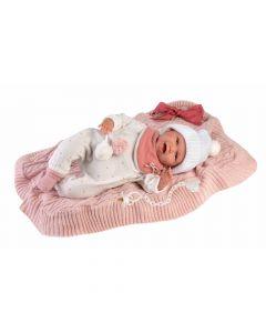 Кукла Llorens Mimi Sonrisa Con Mantita 42 см