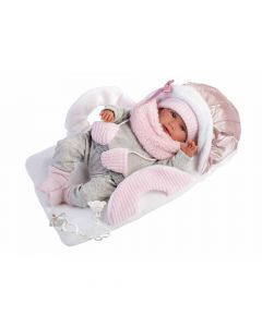 Кукла Llorens Mimi Llorona Capazo Portabebe 42 см