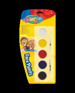 Colorino Kids боички за лице 5 цвята