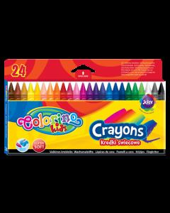 Colorino Kids пастели 24 цвята